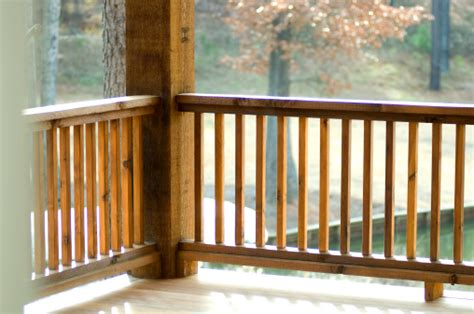 outdoor banister stairs banisters staircase balustrade timber