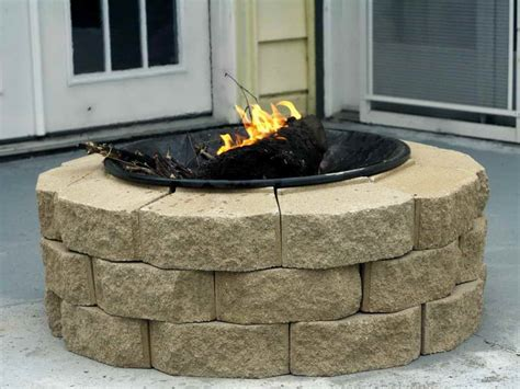 Make Your Own Firepit Decoration How To Build Your Own Pit Build A Pit How To Build A Backyard Pit