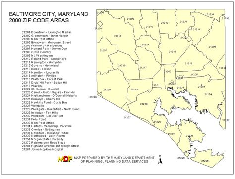 maryland map with zip codes baltimore county zip code map