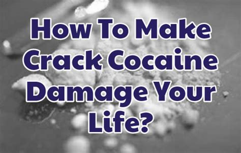 How To Detox Of Cocaine by How To Make Cocaine Damage Your Completely