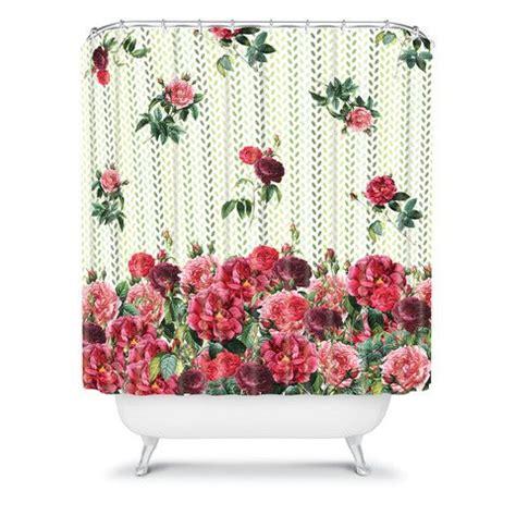 rose pattern curtains belle13 vintage rose pattern shower curtain
