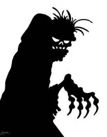 free silhouette images free printable halloween window silhouettes gravedigger