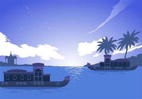 kerala boat icon kerala boat free vector download free vector art stock
