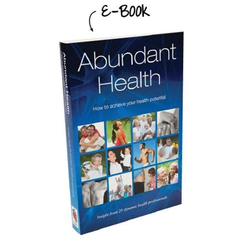 abundant health e book changing habits