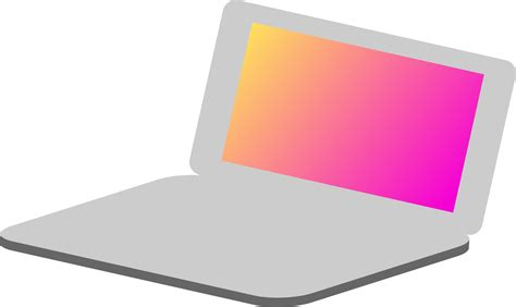 Notebook Simple clipart laptop simple icon
