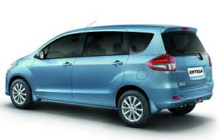 Suzuki Ertigo Lengthened Suzuki Becomes Maruti Ertiga