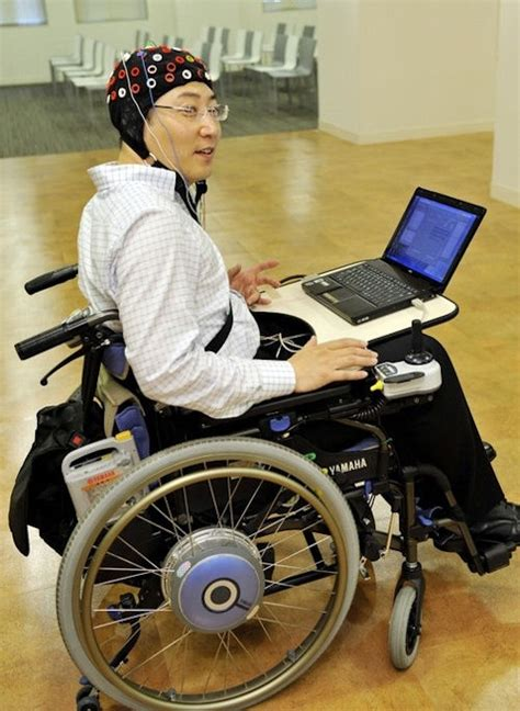 toyota scientists succeed in thought controlled wheelchair
