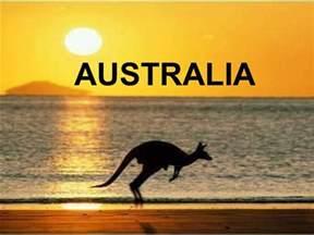 In Australia Australia Presentation