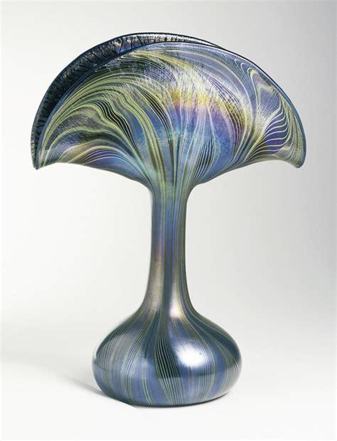Art Nouveau Vases Louis Comfort Tiffany Peacock Vase Ca 1901 Artsy