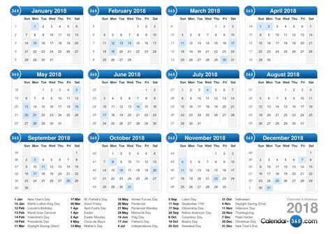 printable calendar 2018 with week numbers calendar 2018 printable with week numbers
