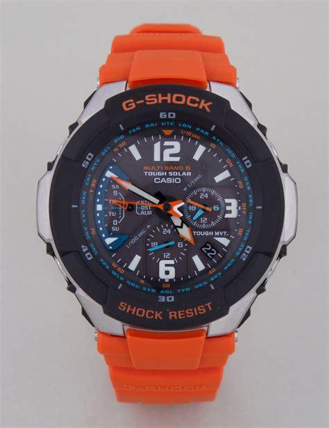G Shock Black Orange g shock gw 3000m 4er orange black ebay