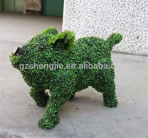 buy topiary frames sjza03 high quality artificial grass animal artificial