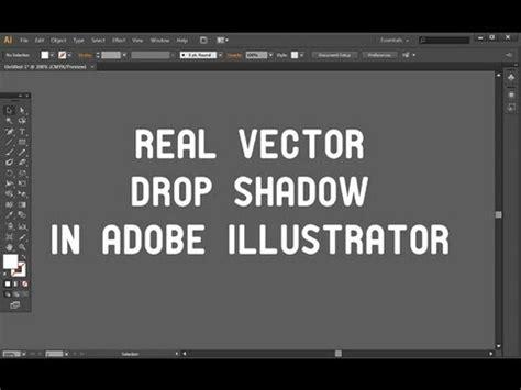 illustrator tutorial drop shadow easy vector drop shadow in adobe illustrator tutorial in