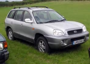 2001 Hyundai Santa Hyundai Santa 2 7 Fe 2001