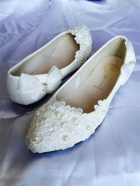 white wedding slippers white wedding flats bridal ballet shoes comfortable flats