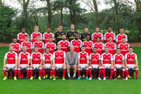 arsenal squad 2018 arsenal roster players squad 2017 2018 17 18 and new