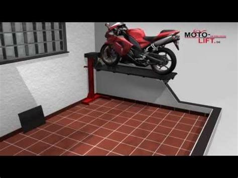 Motorradhebeb Hne Bike Lift www moto lift de motorcycle lift bikelift
