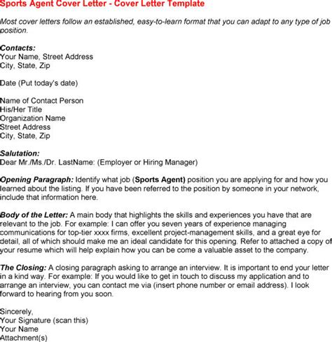 Sports Cover Letter Exles by Sle Cover Letter For Sports For Sports Information