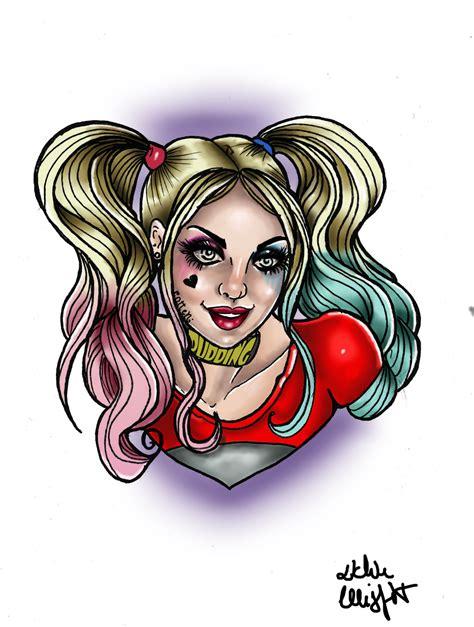 harley quinn tattoo designs harley quinn flash by missmisfit13 on deviantart