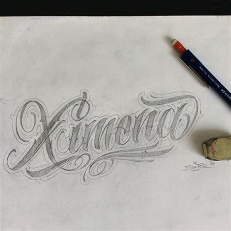 imagenes de graffitis que digan ximena padre nuestro en latin tatuaje newhairstylesformen2014 com