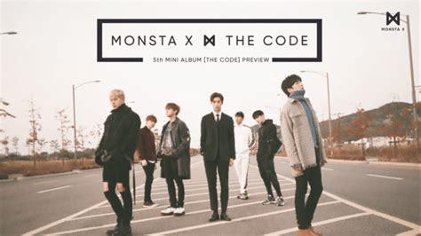 Monsta X The Code De Code Ver No Poster kpop asia actualizado monsta x revela un adelanto de the code