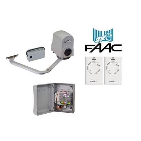 swing gate opener kit faac 391 24v single swing gate opener kit samtgatemotors