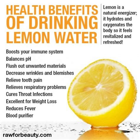What Does Detox Water Do For Your Skin by 15 Reasons You Need To Drink Lemon Water