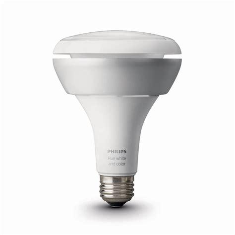 philips hue light bulbs philips hue white and color ambiance br30 single bulb