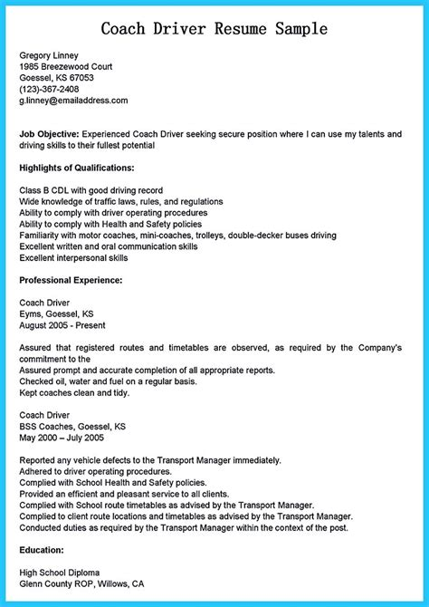 stunning driver resume to gain the serious driver stunning driver resume to gain the serious driver