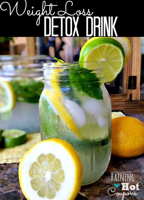 How To Use A Detox Drink For A Test by Weight Loss Detox Drink Recipe Weight Loss Detox