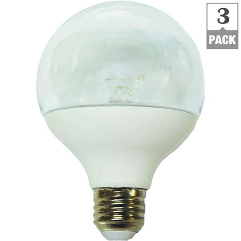 Ecosmart Led Light Bulbs Ecosmart 40w Equivalent Soft White G25 Dimmable Led Light Bulb 3 Pack 25 40we W27 Cl The