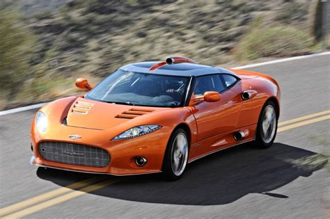 spyker review spyker c8 aileron review pictures evo