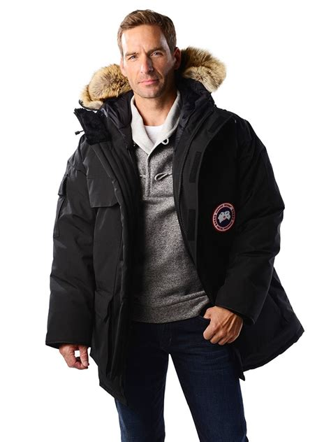 Expedition E 6387 M Black canada goose s expedition parka style 4565m