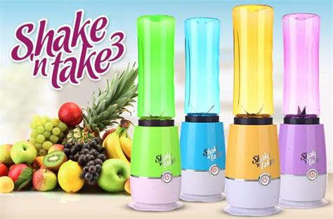 Shake And Take Generasi 1 Botol 2 Termurah Original shake n take blender 2 tabung warna generasi 3