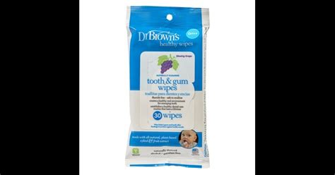 Drbrowns Brown Baby Wipes Tooth And Gum Tissue Basah Bayi dr brown s tooth gum wipes pack of 30 mamas papas uae