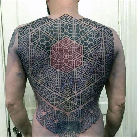 intricate pattern tattoo 100 pattern tattoos for men symmetrical design ideas