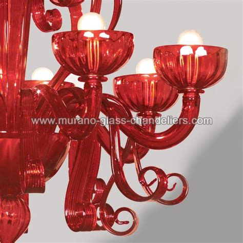 kronleuchter rot glas quot sogno quot murano kronleuchter rot murano glass chandeliers