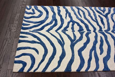 blue zebra rug blue zebra print rug best decor things