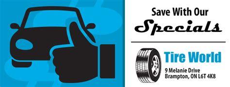 brampton  tires tire services tire world