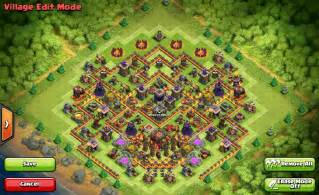 Coc th9 troll base along with 3d troll clash of clans th8 base