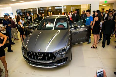 Maserati Pasadena by Maserati Of Pasadena Reveals The All New 2017 Maserati