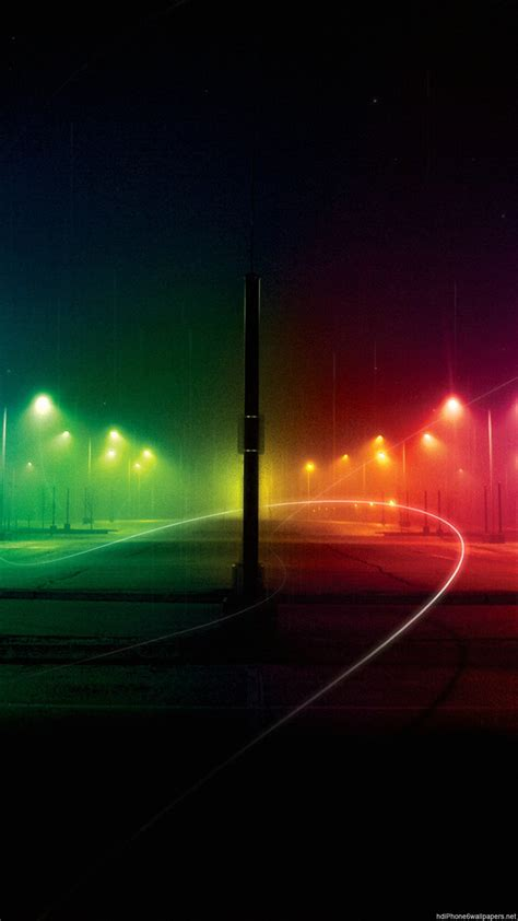 Wallpaper For Iphone 6 Rainbow | night road rainbow iphone 6 wallpapers hd and 1080p 6 plus