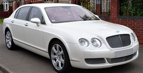 white bentley sedan hire white bentley flying spur for your dears london