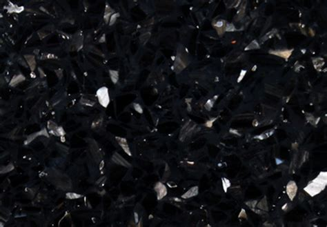 obsidian black color granite color
