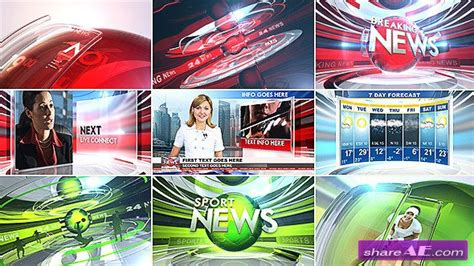 videohive broadcast package bundle 104 187 free after
