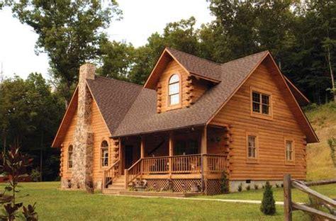 Country Cabin Hiawatha by Doe Run Log Home Plan By Bpp Log Homes