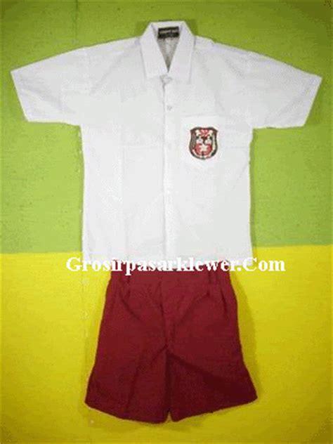Baju Seragam Sekolah Dasar Toko Ikha Yuliana Ika E 07621051 Sore Baju Seragam
