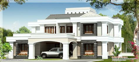 4 floor house design double floor 4 bedroom house kerala home design and floor plans