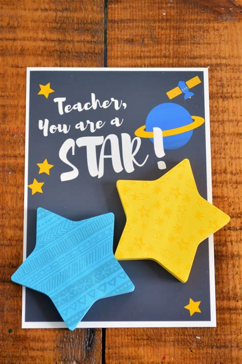star post  teacher gifts handmade gifts mad  crafts