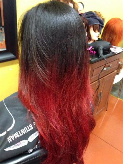 ombre hair images pictures becuo black ombre hair red www imgkid com the image kid has it